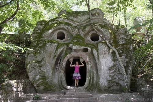 Le jardin des monstres de Bomarzo 14945