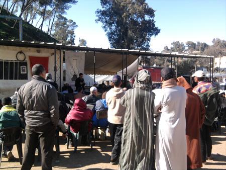 العلاوي يتواصل مع ساكنة جماعات دائرة وزان Wazan33