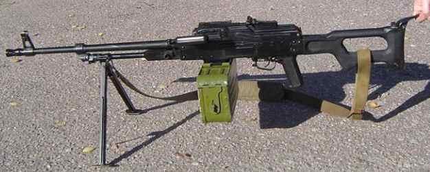 PKP Pecheng, la ametralladora rusa Pkm04