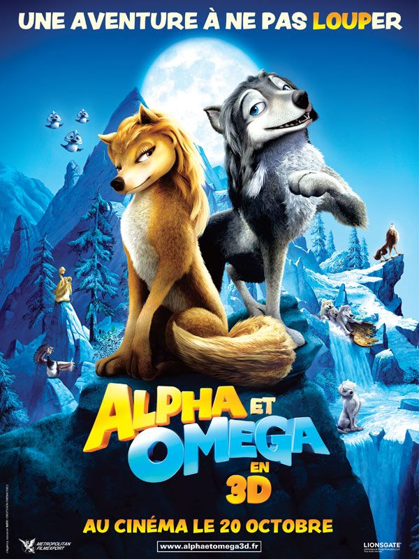 FILMS D'ANIMATION Alpha-Omega-3D-