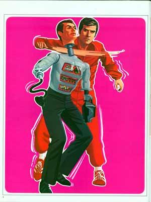 """Aide livre """"Jouets des Années 70-80"""" Bionics05t"""