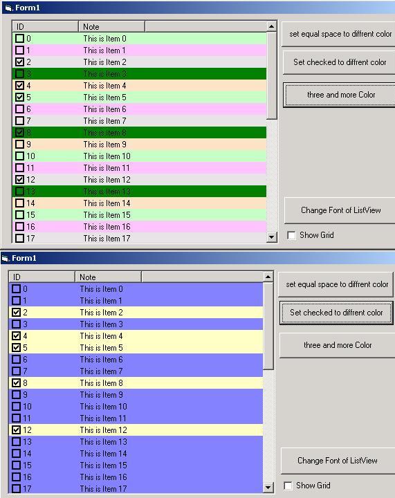 مشروع جميل يوضح كيفية تعيين لون لكل صف من صفوف listview  PIC2003112437269184