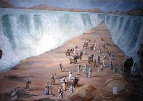 La Bible facile Moise-traversee-mer