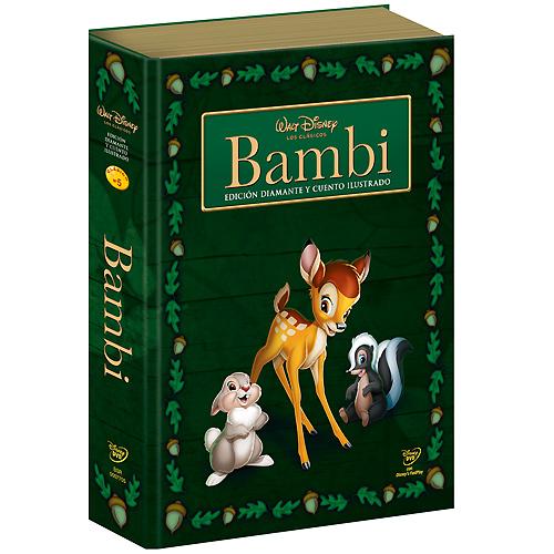 [BD + DVD] Bambi (2 mars 2011) - Page 14 Bambi_DVD_EspanhaLivro