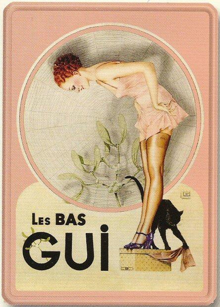 Les affiches du temps passé quand la pub s'appelait réclame .. - Page 2 BasGUI