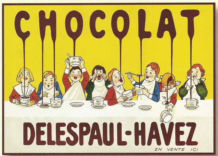 Les affiches du temps passé quand la pub s'appelait réclame .. - Page 39 HAVEZ