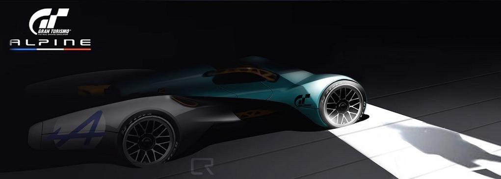 2015 - [Alpine] Vision GT Concept - Page 2 Alpine-vision-gran-turismo-concept-gt6-2