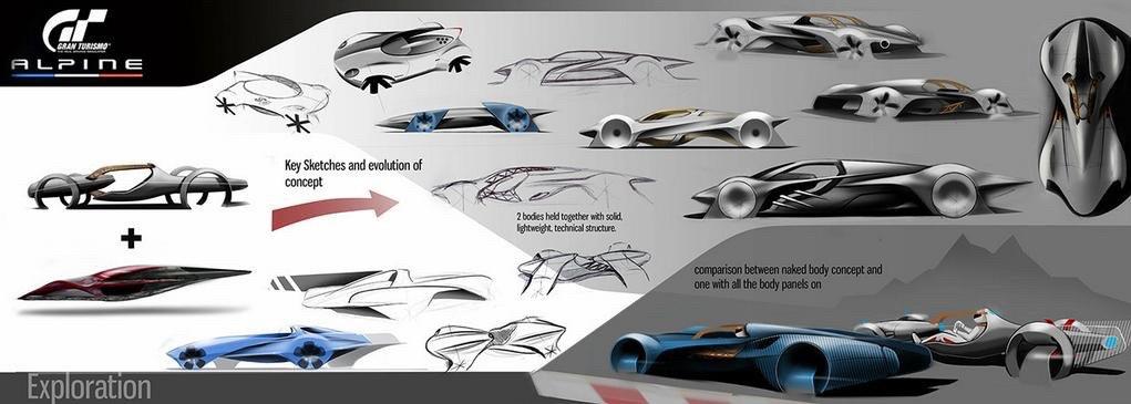 2015 - [Alpine] Vision GT Concept - Page 2 Alpine-vision-gran-turismo-concept-gt6-4