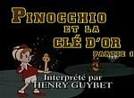 Doublage des dessins animés effectué par des stars PinocchioCl%C3%A9Or01
