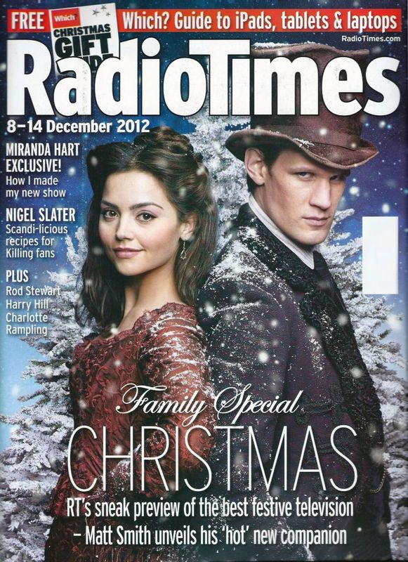 Doctor Who Radio Times. 2003 to present day. RadioTimesCover2012