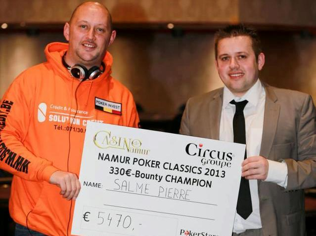 Namur Poker Classics 2013 - Namur 27/03-01/04/2013 SalmeNPC1
