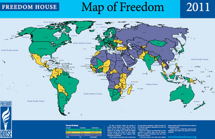 The 'Map of Palm Reading' vs. the 'Map of World Freedom' Map-of-freedom-2011