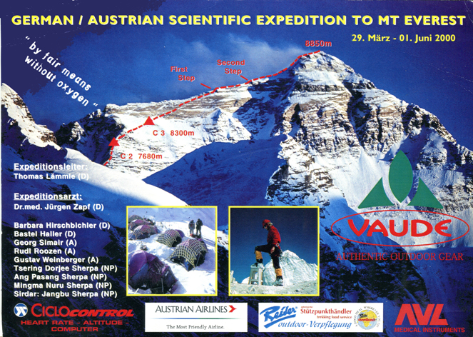 Expeditionspost / Alpinismus Ex1