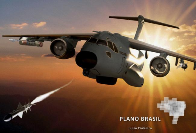 EMBRAER KC-390  - Página 3 P-390-2