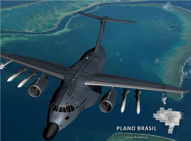 EMBRAER KC-390  - Página 3 P-390