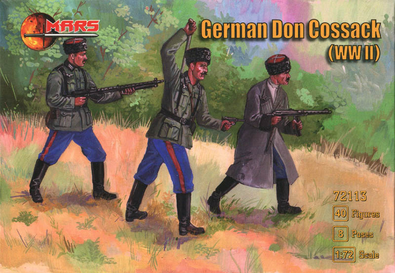 German Don Cossacks von Mars MAR72113Box