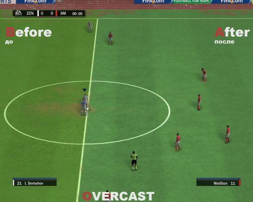 Césped para FIFA 10 95-s