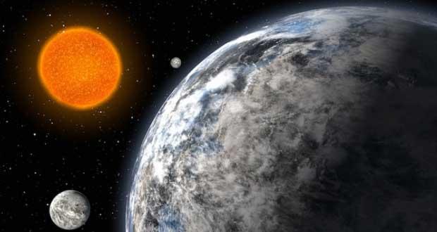 """Trois """"super Terre"""" découvertes dans un nouveau système exoplanétaire Super_terre"""