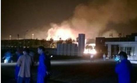 Le cauchemar continue en Chine avec une nouvelle explosion d'une usine chimique (+vidéo) O-EXPLOSION-CHINE-SHANDONG-facebook