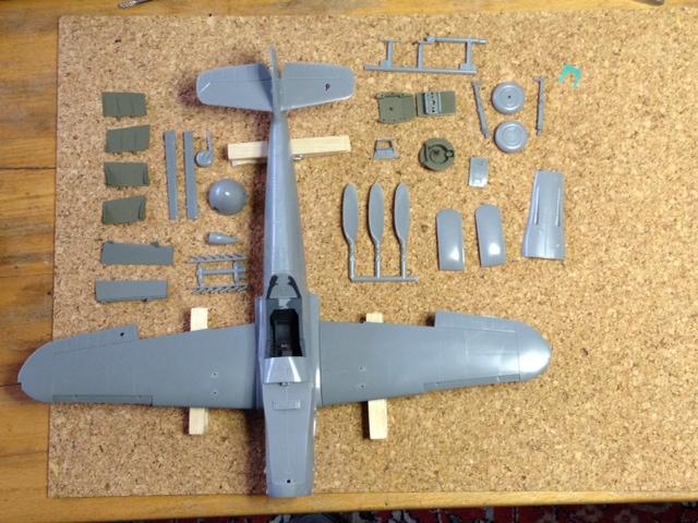 Die Bf 109 K-4 / Hasegawa, M 1:32 198_image_10_jut