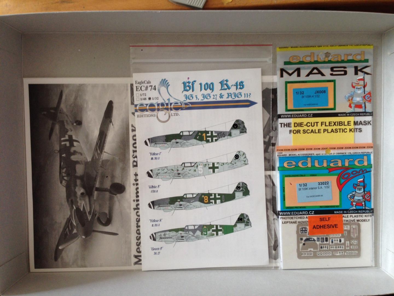 Die Bf 109 K-4 / Hasegawa, M 1:32 198_image_2_tfk