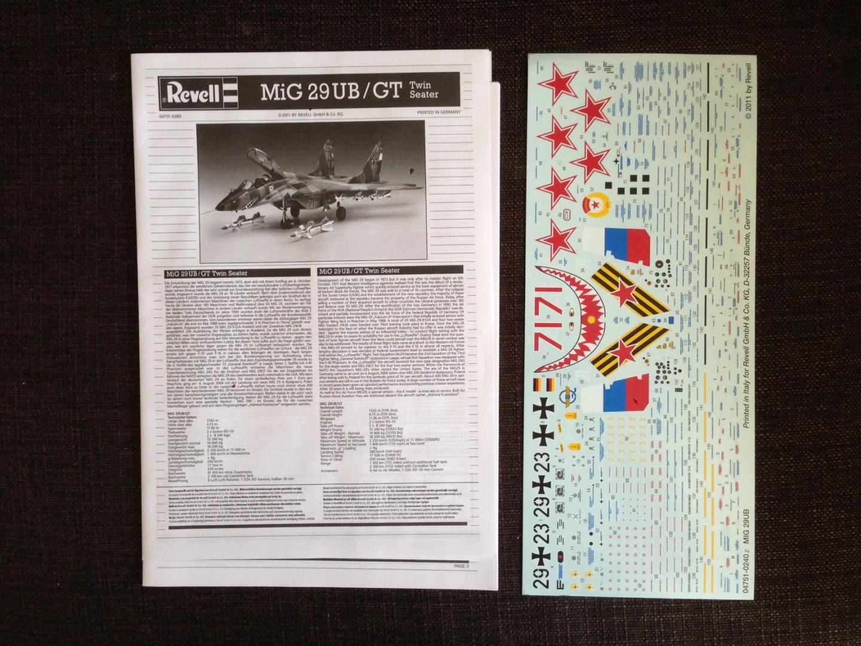 MiG 29 UB Twinseater / Revell, M 1:32 207_image_2_bmg