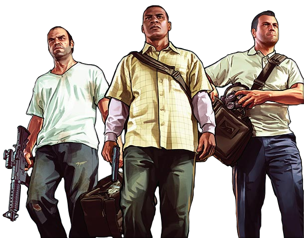 GTA V FULL - Torrent  Grand-Theft-Auto-V-PNG-Picture