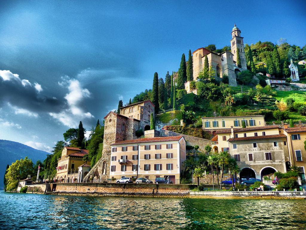 Švajcarska Lugano