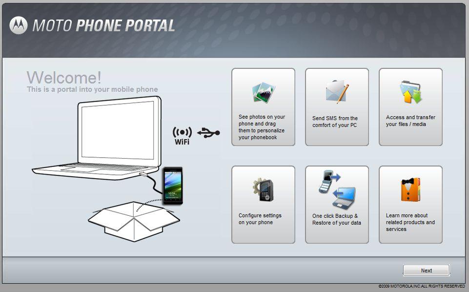 [SOFT] Motorola Phone Portal PhoneportalPC
