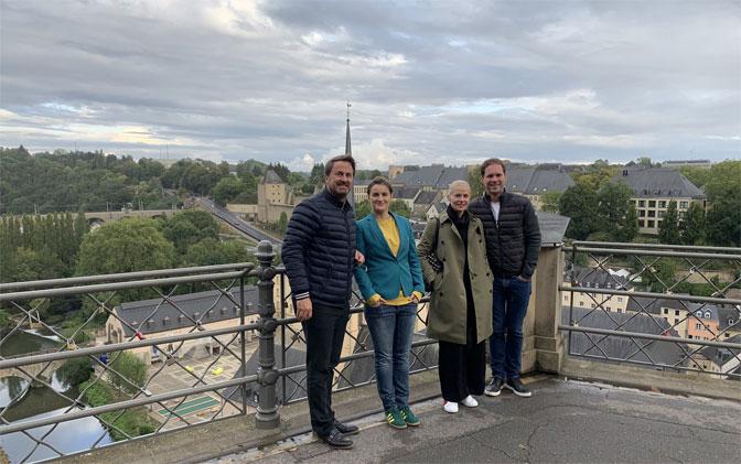 Premijer Luksemburga i njegov suprug u obilasku grada sa Anom Brnabić i njenom partnerkom LUKSEMBURG