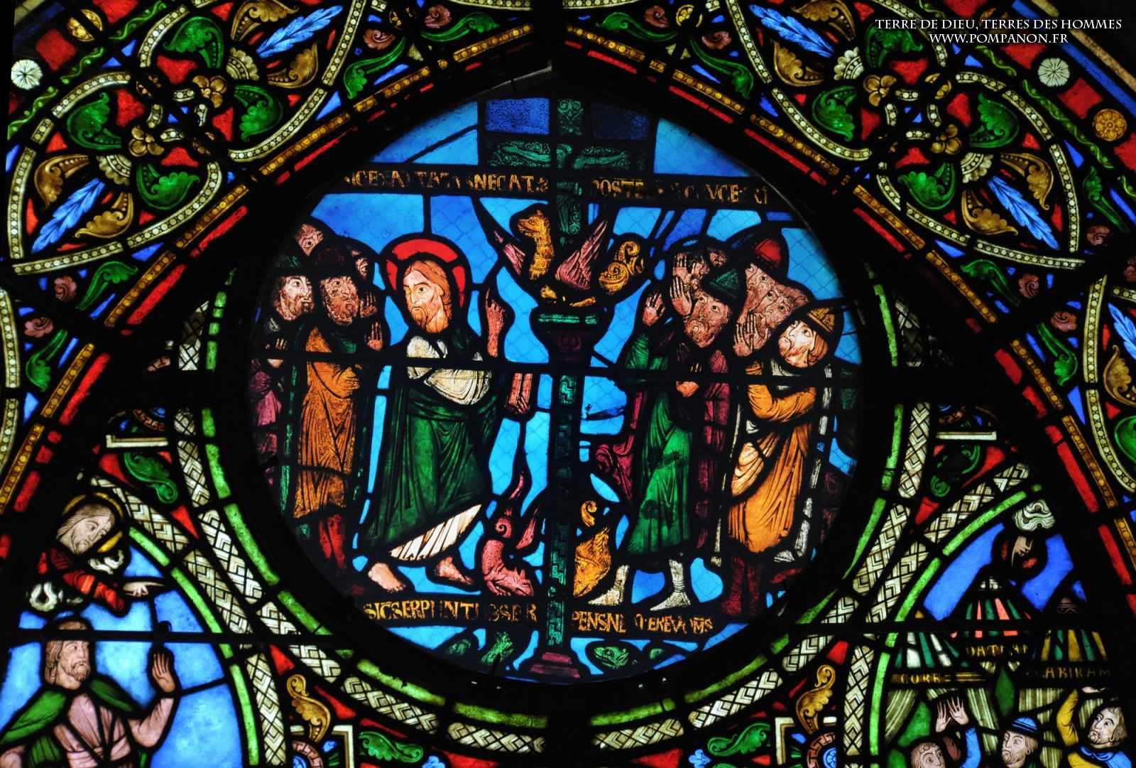 Les vitraux  du XIIIéme siècle . 5043eefcbf001