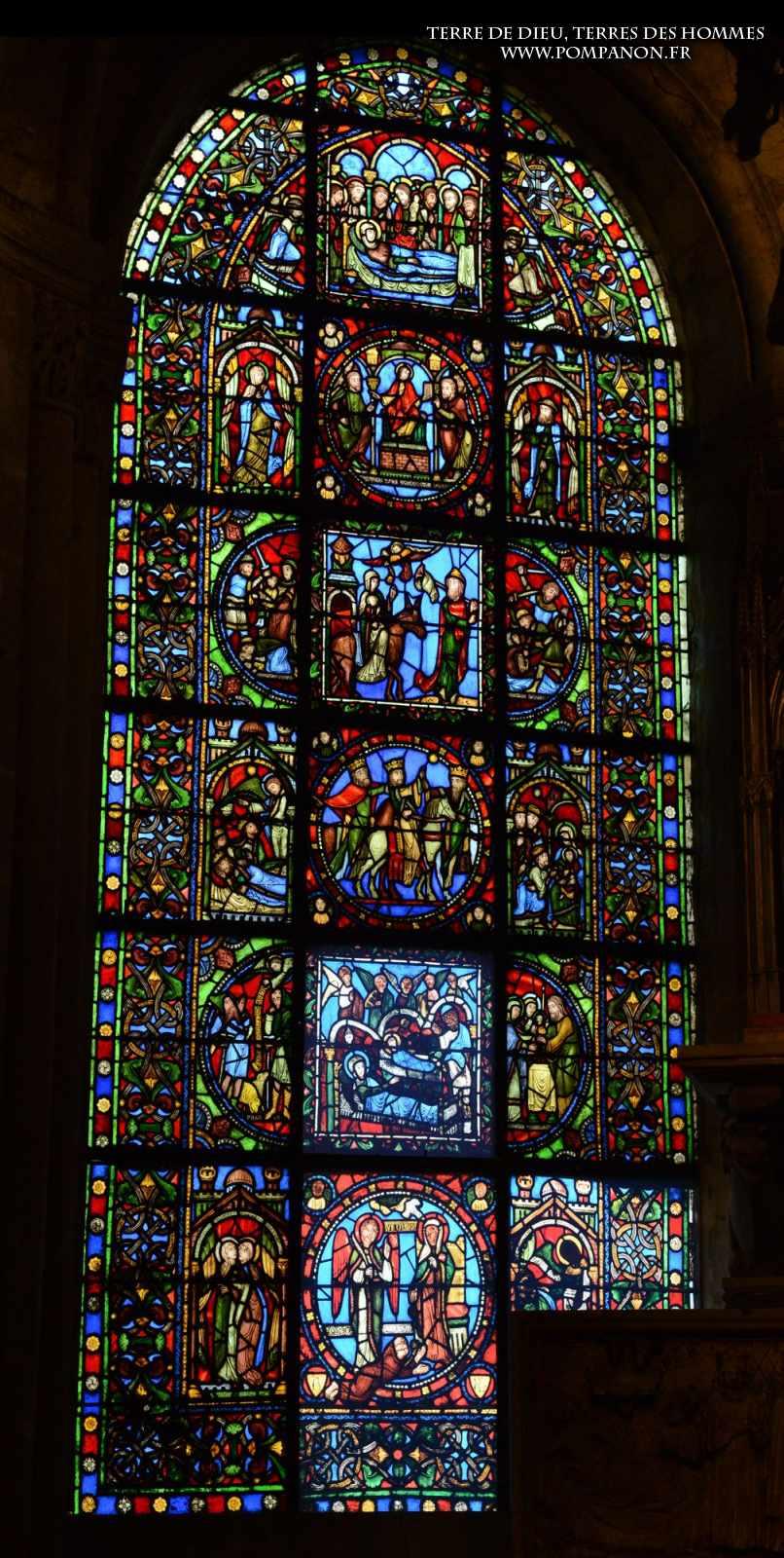 Les vitraux  du XIIIéme siècle . 5043eefcbd91a