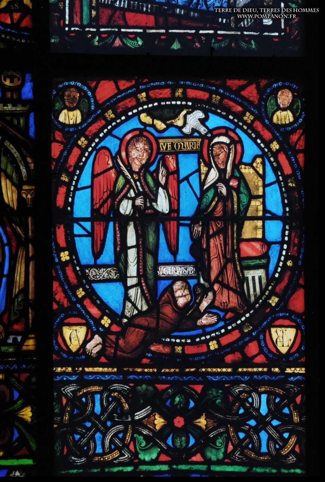 Les vitraux  du XIIIéme siècle . 5043eefcb2272
