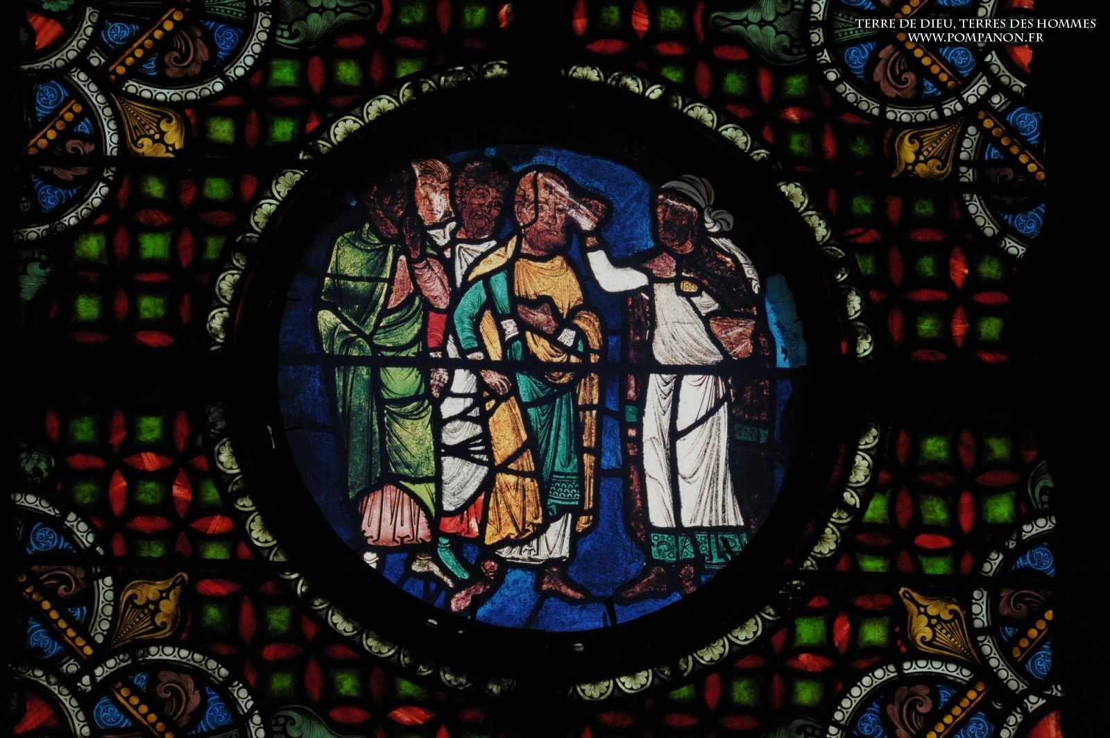 Les vitraux  du XIIIéme siècle . 5043eefcc4133