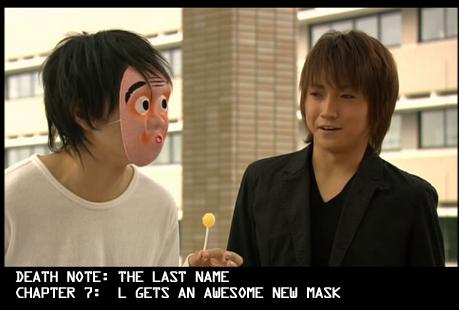 [manga] Death note Humorous_Mask