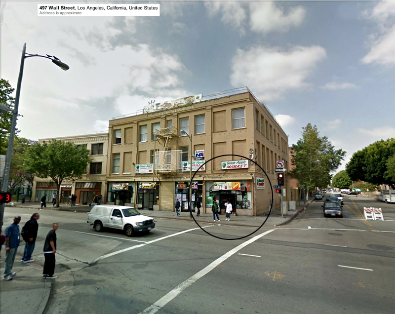 ROCKEANDO CON STREET VIEW Wall_Street_Corner