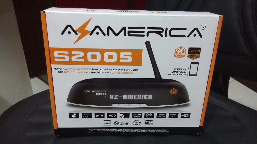 NOVA ATUALIZAÇÃO DO SEU APARELHO AZAMERICA S2005 HD . Azamerica-s2005