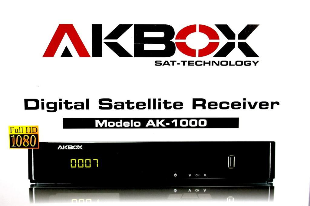 NOVA ATUALIZAÇÃO DO SEU APARELHO AKBOX AK 1000 HD. Akbox_10