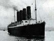 1 guerra del mundo Lusitania