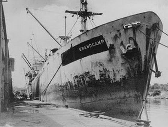 """Liberty ship   """" JOHN W BROWN""""  Txt3-1"""