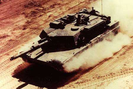 M1 Abrams. M1a1