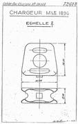 Clip Bertier + cartouches 8mm Lebel Gx1OxyWS