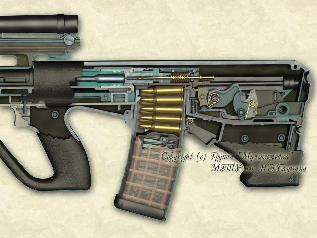 روسيا تبدأ في صنع أنواع جديدة من السلاح الناري AUG77_2