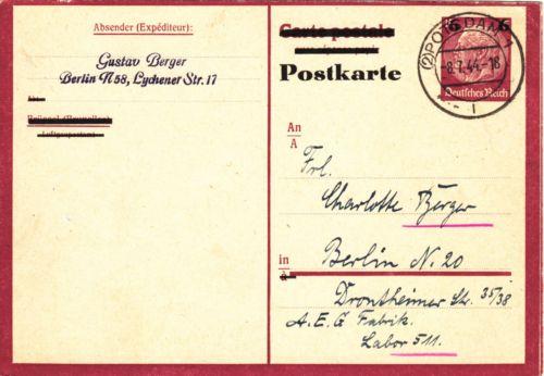 Deutsche Reichspost 1943 - Seite 2 02_Potsdam_1i_1944_07_08