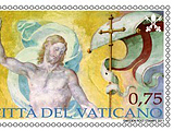 Vatikan gibt Osterbriefmarke aus Ostern2011_vatikanstadt