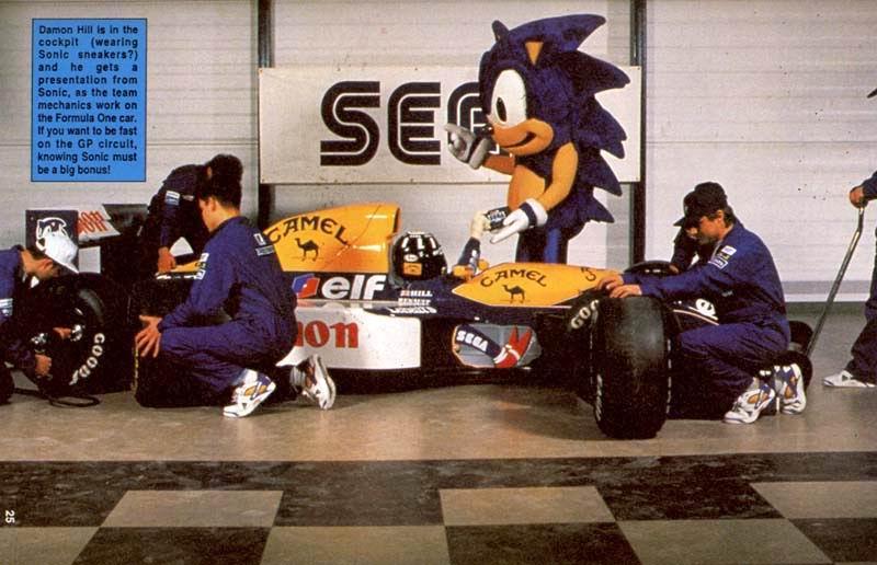 Quand Sega sponsorise une écurie de Formula One Sonic_formula02