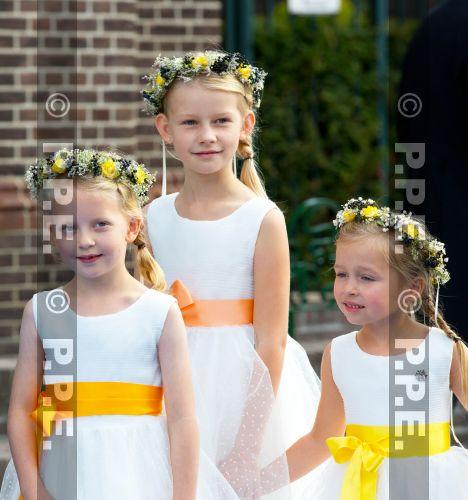 Boda religiosa de Jaime de Borbón-Parma y Viktória Cservenyá PPE13100518