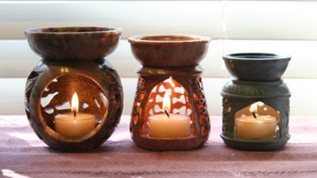 Aromaterapija Soapstone-candle-diffusers1