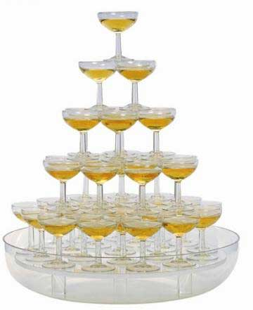 Anniversaire Willou Cascade-a-champagne-48-coupes