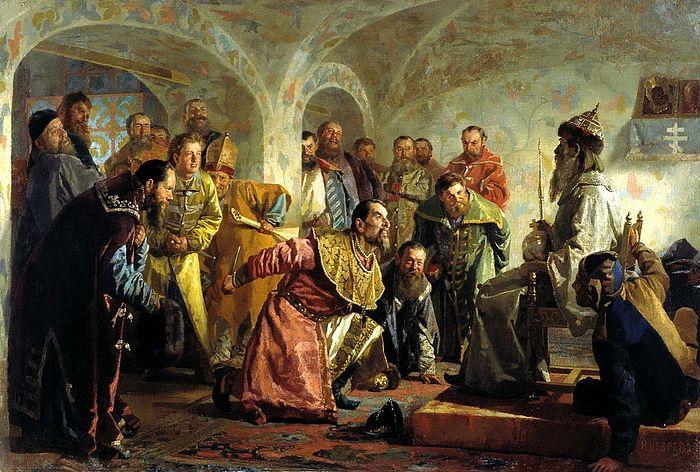 Кто такой Царь Иоанн Васильевич Грозный, и что он сделал для России? 249531.p
